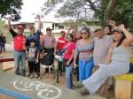 Asamblea del PSUV en Alta Vista Sur, estado Bolívar, para escoger candidatos.