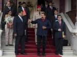 Maduro, Chávez y Jaua