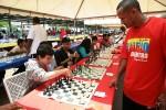 500 tableros de juegos de ajedres, en PDVSA La Estancia, Maracaibo.
