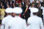 Acto de conmemoración de la Batalla Naval del Lago, en Maracaibo.