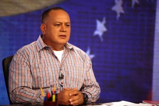 Cabello: A la MUD le parece democrático que le den un golpe de Estado al presidente Maduro
