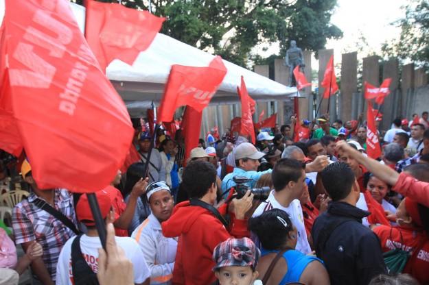 Abanderamiento de la Brigada Ezequiel Zamora / Miranda