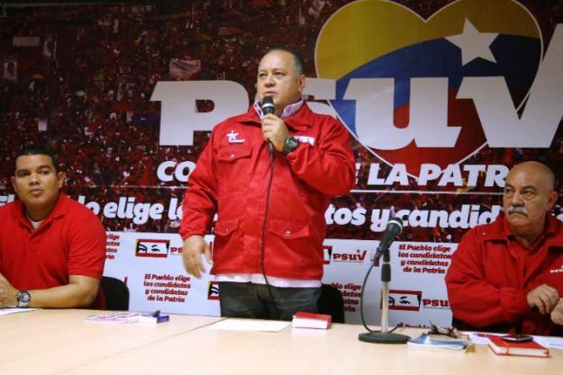 Foto: Prensa PSUV/ Jesús Vargas