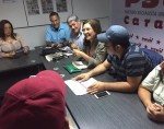 Foto: Comando de campaña Jaqueline Faria