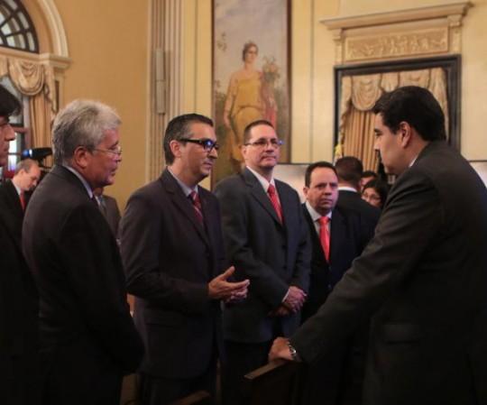 Lista de ministros del gobierno bolivariano de venezuela for Ministros del gobierno