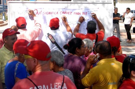 Homenaje a Chávez en Nueva Esparta1
