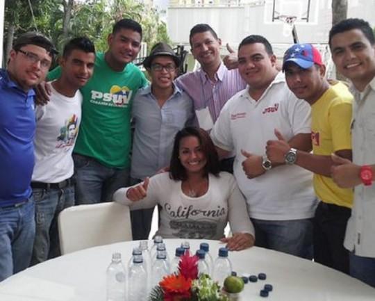 Consejo presidencial de jóvenes en Zulia
