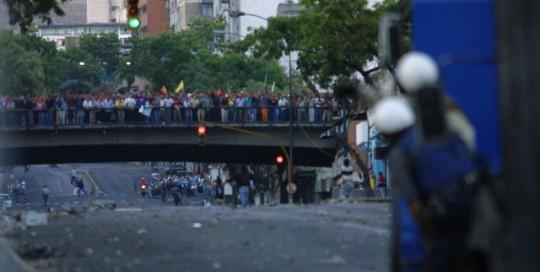 El 11A se cometió una masacre en Puente Llaguno coordinada por la derecha con apoyo de francotiradores y efectivos de la extinta Policía Metropolitana