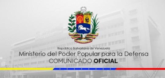 Ministerio de la defensa conden ataque a reo terrorista for Comunicado ministerio del interior