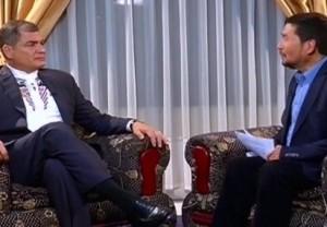 Desde la ciudad de Cochabamba (Bolivia) el expresidente ecuatoriano aseguró que las divergencias y conflictos deben tratarse en la región. | Foto: teleSUR