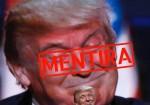 Donald Trump y sus mentiras