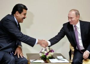 Maduro - Putín
