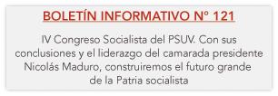 Boletín Informativo N°121