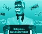Holograma Guaidó